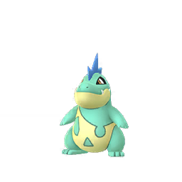 Pokemon GO Pokemon GO Croconaw Shiny sprite (Male)
