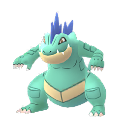 Pokemon GO Pokemon GO Feraligatr Shiny sprite (Male)